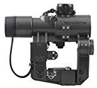 VECTOR OPTICS SVD Dragunov 1x28mm Tactical Red Dot Scope Sight with Side Picatinny Rail Mount (Matte Black)