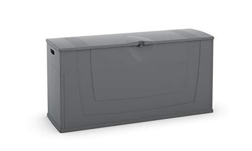 Concept Usine 7199.0 Karisma Aufbewahrungsbox, 270l, 119 x 40 x 58cm, Anthrazit