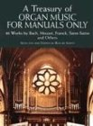 Treasury Of Organ Music -For Manuals Only-: Noten für Orgel (Dover Music for Organ)