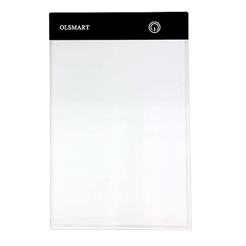 OLSMART A5  Ultrasottile Drawing Pad con Luminosità Regolabile LED Tracing Board per Artisti Disegnare Animazione Tavolo Luminoso da DisegnoPittura Diamante