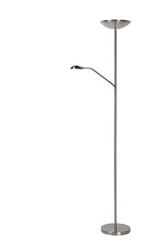 Lucide ZENITH - Lampadaire - Ø 24,5 cm - LED - Chrome Dépoli