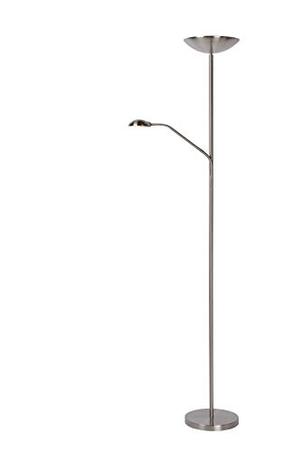 Lucide Zenith–Pie–, diámetro de 24,5cm–LED–Cromo mate