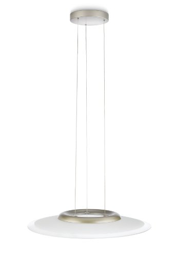 Philips Ledino LED-Pendelleuchte Equila 6-flammig 2 W, nickel lackiert 407451716