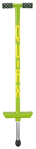 pedalo QU-AX Pogo-Stick bis 20kg grün I Highend Sprungstab I Hüpfstange I Hüpfstab I Kinder