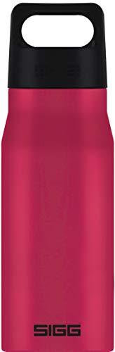 SIGG Explorer Deep Magenta gourde inox (0.75 L), gourde étanche, garantie sans fuite et sans produits toxiques, bouteille en inox robuste, recyclable et sans odeur