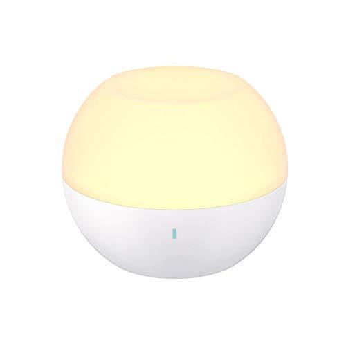 Ti-Fa Nachtlampje, oplaadbaar, IP65, nachtlampje, waterdicht en druppelbestendig, tafellamp met RGB-kleurvariabel