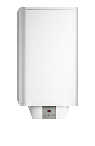 AEG Wandspeicher dem 80 Comfort El, 80 L, Druckloser/-Fester Betrieb, Hohe Energieeffizienz mit 3 Eco-Funktionen, Gradgenaue Temperaturwahl von 20-80 °C, Schnellaufheiztaste, 234192