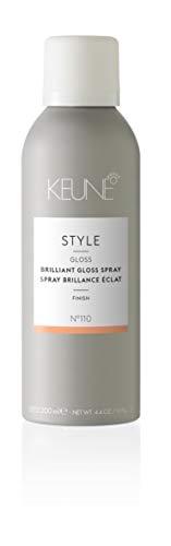 KEUNE Style Brilliant Gloss Spray, 4.4 oz