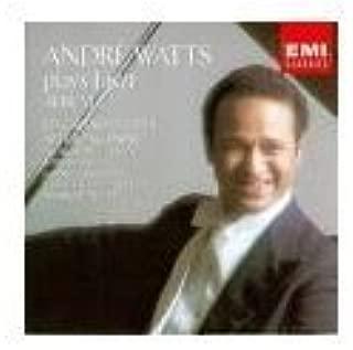 Andre Watts Plays Liszt - Album 1 - Six Grand Etudes after Paganini; Au Lac de Wallenstadt; Il Penseroso; Les Jeux d'eau a la Villa d'Este; Hungarian Rhapsody No. 13 in A minor