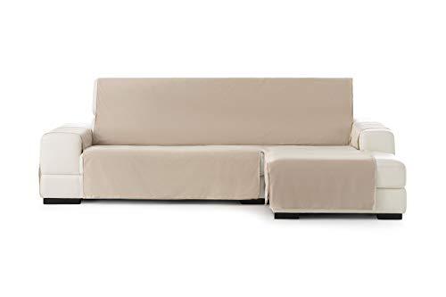 Eysa Somme Protect Funda de sofá 100% Poliester, 11/Beige, Chaise longue 240 cm.
