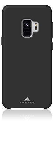 Black Rock - Hülle Silikon Fitness Hülle Passend für Samsung Galaxy S9   Handyhülle, Schutzhülle, Dünn, Sport Cover (Schwarz)