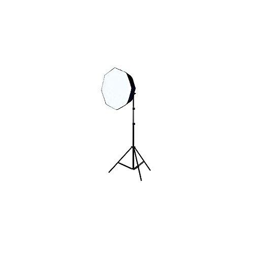 Linkstar 564003 - Sets de equipos para foto estudio (1 piezas, 1 piezas, 5300K, 106W, Negro, Color blanco)