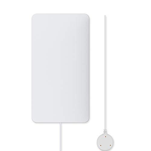 Walmeck WiFi Sensor de Fugas de Agua Fugas de Agua Detector de intrusiones Alerta Nivel de Agua Alarma de desbordamiento Tuya Smart Life App Control Remoto para la Seguridad de la casa