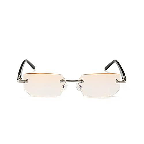 Anjing Gafas de lectura para mujer, gafas de lectura para hombres, gran valor, negro Metal1.5