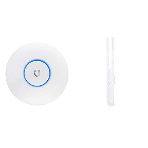 Ubiquiti Networks UAP-AC-LR - Punto De Acceso Inalámbrico, Puerto Ethernet 10/100/1000, Blanco, 175.7 X 175.7 X 43.2 Mm + Punto De Acceso (1167 Mbit/S, IEEE 802.3Af, Blanco, Pared, 46 Mm, 34 Mm)