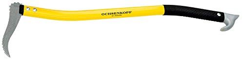 Ochsenkopf Alu-Handsappie, Ergonomische Form, Leichter Stiel mit Aluminiumlegierung, 500 mm, 450 g