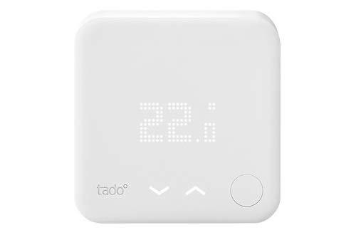 tado° Termostato Inteligente, accesorio para control de habitaciones múltiples, control de calefacción inteligente