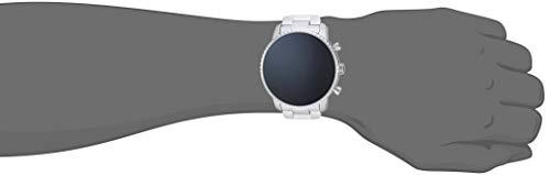 Fossil Men's Gen 4 Explorist HR Heart Rate Stainless Steel Touchscreen Smartwatch, Color: Silver (Model: FTW4011) 5