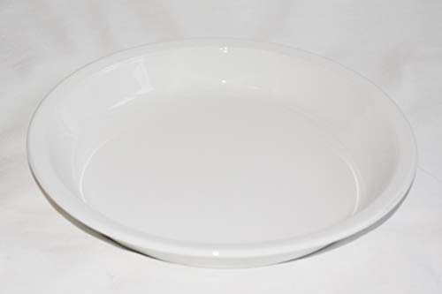 Vintage Corning Ware All White 9' Pie Plate P-309