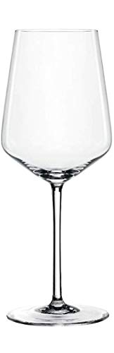 Spiegelau 4670182 Style White Wine Glasses, Cocktail Drinkware, Set of 4, Clear