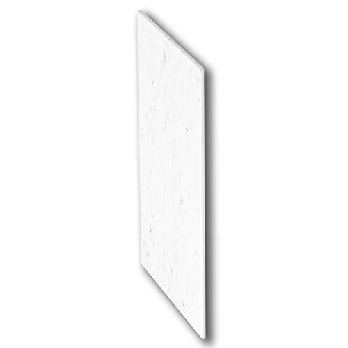 Erhard-Trading IKEA BESTA dekplaat wit/grijs van kunststof in marmer decor 60x42 cm melamine plaat gemarmerd 603.638.80
