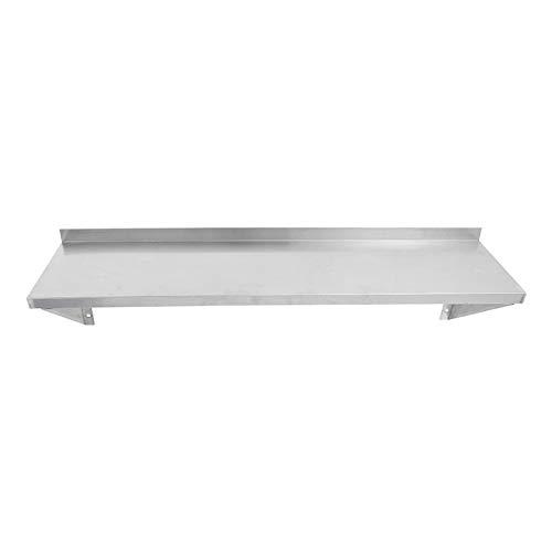 MYOYAY Stainless Steel Wall Shelf | NSF Certified | Appliance & Equipment Metal Shelving | Kitchen, Restaurant, Garage, Laundry, Utility Room