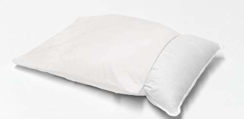Briljant baby - anti-allergie kussensloop met ritssluiting Evolon - 60 x 70 cm wit - 70% polyester / 30% polyamide