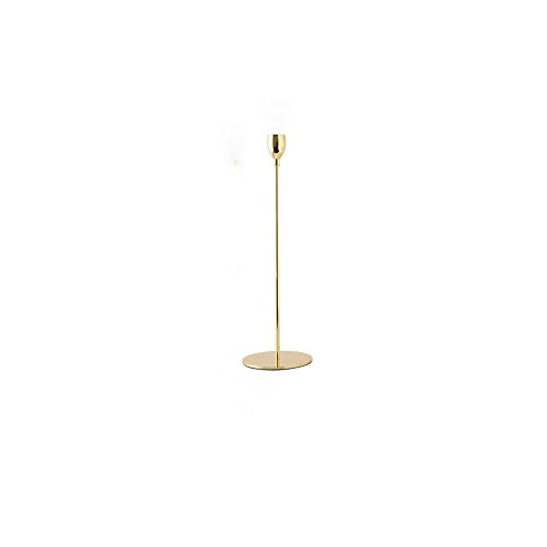 XHHWJJ Europäischen Stil Eisen Kunst Golden Candlestick Esstisch Romantische Nordic Wohnzimmer Tisch Candlelight Dinner Pendel Stücke Kerzenhalter (größe : Große)