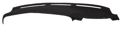 WOLF 1424-00-25 DashMat Original Dashboard Cover Chevrolet and GMC (Premium Carpet, Black)