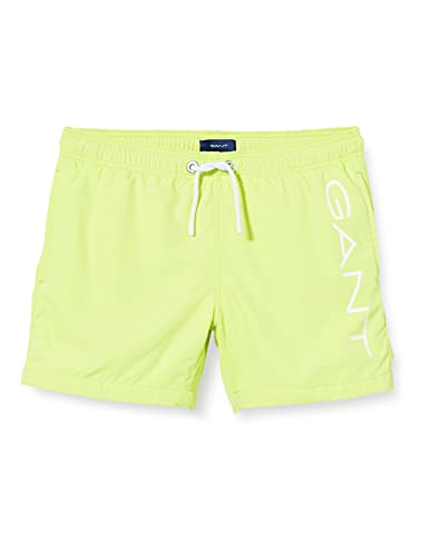 GANT Jungen 922115005 Badehose, Sunny Lime, 176