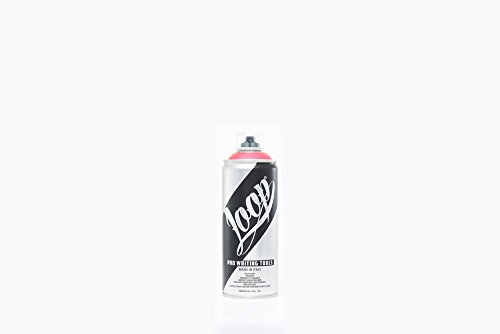 LOOP COLORS PAINT - Spray de pintura en aerosol multicolor 400 ml - 174 colores, Blanco