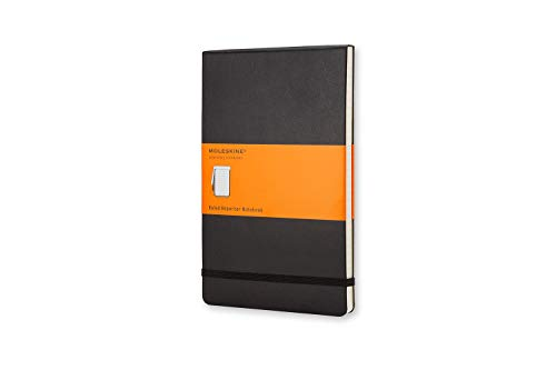Moleskine Classic Notebook, Hard Cover, Pocket (3.5' x 5.5') Ruled/Lined, Black