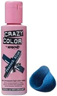 Crazy Color Semi Permanent Hair Dye - Blue