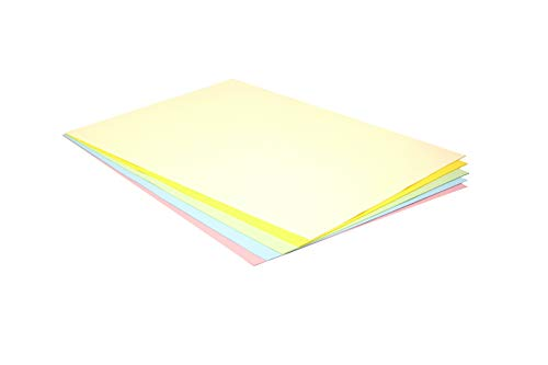 Pack 25 Cartulinas Colores Pastel Tamaño 50X65 180g
