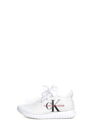 CALVIN KLEIN Jeans UOMO Sneakers White - 42