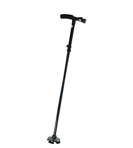 Tiempo de saldo bastón de paseo plegable con luz linterna LED y altura regulable