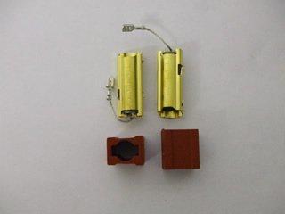 Miele W477S Kohlebürsten und Halter für Waschmaschine, 2 Stück
