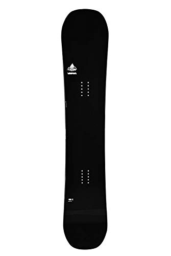 Vimana Continental Twin Camber Snowboard - Black - 159 cm