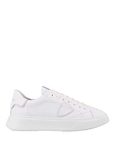 Philippe Model Damen-Sneakers Temple Low Woman Veau Blanc A11EBTLDV001, - weiß - Größe: 38 EU