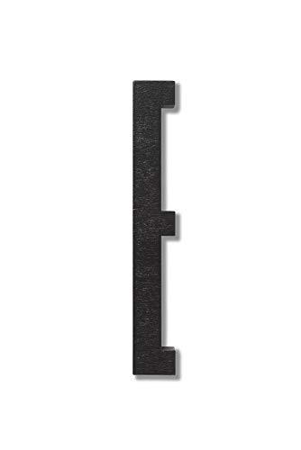 Design Letters 30201000E Lettres et Chiffres, Bois, Noir, Taille Unique