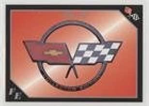 Corvette Flag Emblem (Trading Card) 1991 Collect-A-Card Vette Set - [Base] #82
