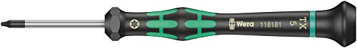 Wera Elektronik- U. Feinmechanik Torx-Schraubendreher 2067 Größe T 5 Klingenlänge: 40 Mm