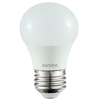 Sunlite 80175-SU LED A15 Light Bulb 5.5 Watts  40W Equivalent  450 Lumens Medium Base  E26  Dimmable Finish UL Listed Energy Star 1 Pack 30K-Warm White
