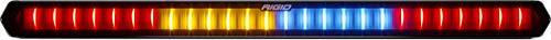 RIGID 901801 Chase Rear Facing 27 Mode 5 Color LED Light Bar 28 Inch, Tube Mount