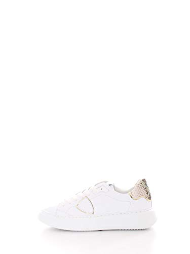 Philippe Model Temple Sneakers Donne Bianco - 39 - Sneakers Basse Shoes