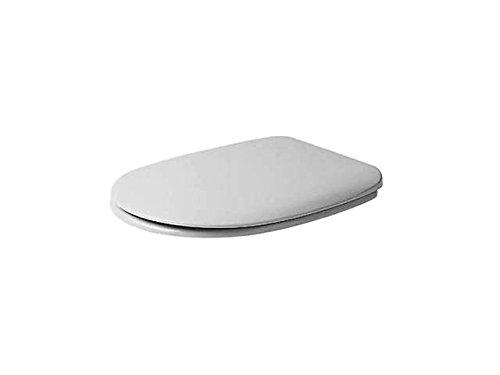 Duravit DU toiletbril zonder automatische sluiting. wit