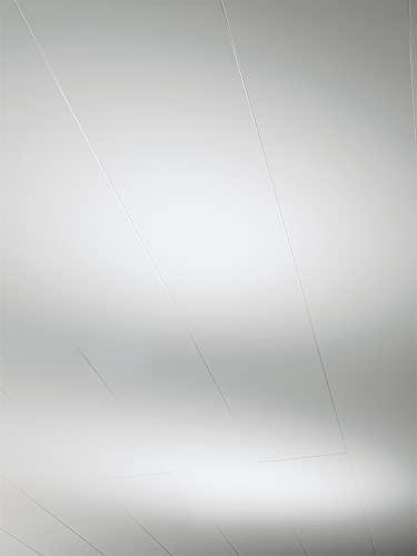 Parador Wand und Decke Rapido Click - Dekor Weiß Hochglanz - Dekorpaneele feuchtraumgeeignet, einfache Klick-Montage - 1274 x 206 x 12 mm