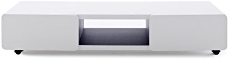 Robas Lund, Lowboard, Fernsehtisch, TV-Schrank, Jeff II, wei, 41 x 140 x 28 cm, 30930WS7