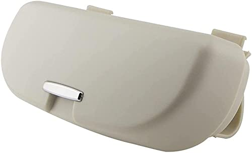 CZCLZG - Funda para gafas de sol de coche, compatible con BMW X1 X3 F25 X5 F15 F85 F20 F21 F30 F35 F80 F32 F33 F82 F83 F10 F18 F11 (nombre del color: Negro)-Gris