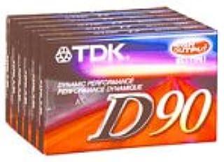 TDK 90minutos cintas de Audio (paquete de 6) (d90s6°F) (Descontinuado por el fabricante)